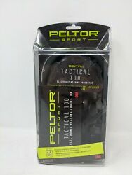 Peltor Sport Tactical 100 Electronic Hearing Protector Ear Protection NRR 2... $69.99