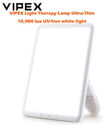 VIPEX VX CL005 Portable Light Therapy Lamp 10000 Lux Brightness Adjustable LED29 $19.99