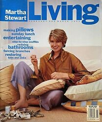 February March 1993 Issue #12 of MARTHA STEWART LIVING Magazine $10.00