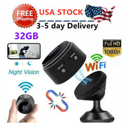 Mini Hidden Spy Camera Wireless Wifi IP Home Security HD 1080P DVR Night Vision $22.55