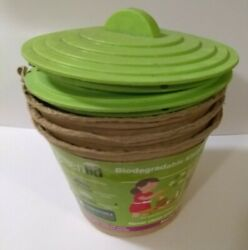 Biodegradeable Kitchen Compost Bins 8x9x9 $7.99