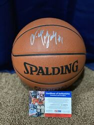 Tracy McGrady Autographed Spalding Official Game Basketball With PSA COA. $299.99