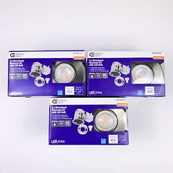 3 Commercial Electric 3 in. Directional Soft White LED Recessed Lighting Kit