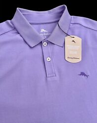 Tommy Bahama Moisture Wicking Cotton Blend Easy Care Polo Shirt Large $89.50 $44.44