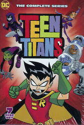 Teen Titans Complete Series 7 DVD Box Set Brand New Free Shipping $19.50