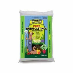 Worm Castings Organic Fertilizer Wiggle Soil Builder 4.5 Pound Brown $27.09