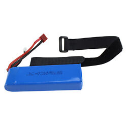7.4v 2200mah RC Battery RC Car Model Accessory Replaces for Wltoys 144001 $20.06