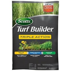 Scotts Turf Builder Triple Action Lawn Fertilizer With Weed Killer $183.64