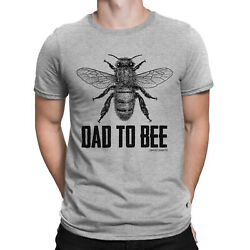 Dad To Bee Mens Funny T Shirt Clearance Sale Fathers Day Gift Daddy Present Buzz GBP 4.99