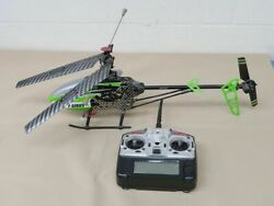 MJX F45 F645 4 ch Large Remote Control Single Blade Helicopter RTF GREEN $95.00