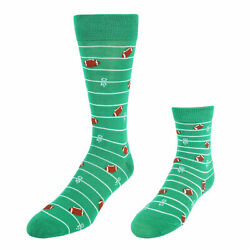 New Marc Ecko Men#x27;s Daddy and Me Novelty Socks 2 Pair Pack $10.44