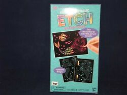 16 Mermaid Rainbow Mettalic Etch Valentines For ages 3  T5 2 $5.99