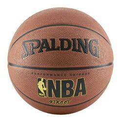 Spalding 63249 NBA Street Outdoor Basketball Size 7 Orange $19.99
