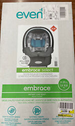 Brand New In Box Green Gray Evenflo Embrace Infant Car Seat Graco Evenflo $44.88