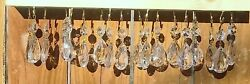 Chandelier Prisms or Lamp Parts 2p $12.50