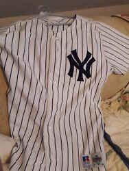 1990#x27;s NY Yankees Pat Kelly Game Used Home Jersey #14 Lampson COA $399.00