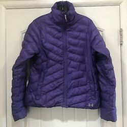 Under Armour Mountain Women Coldgear Infrared Uptown Purple Jacket Med 1249122 $85.00