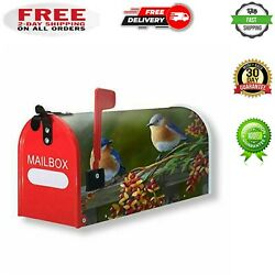 Mailbox Covers Bird Magnetic Mailbox Wraps Post Letter Box Cover Standard Size $22.99