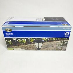 Pathway Solar Light LED 10 Pack Warm White Outdoor Lighting Weather Resistant