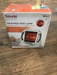 Beurer IL50 Infrared Light Therapy Heating Lamp Red Light Heat Device NEW** $59.99