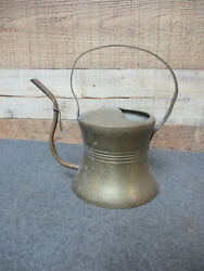 Vintage Brass Plant Watering Can Long Spout $22.50