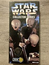Star Wars 1997 TECH With Ommni Box Collectors Series Action Figure New Sealed $63.96