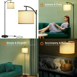 Addlon Floor Lamp For Living Room With Lamp Shade And 9W Led Bulb Modern Standin $84.75