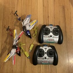 2 S107G Metal Series Rc Helicopter 3 Channel Used $49.99