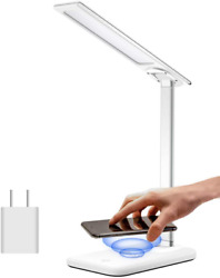 Samuyang Led Desk Lamp With Usb Charging PortDimmable Office Desk Lamps With Wi $22.96