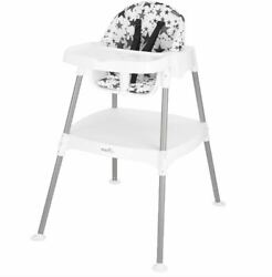 Evenflo 4 in 1 Eat amp; Grow Convertible High Chair Pop Star Gray $55.99