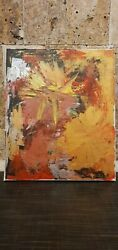Abstract wall art painting on canvas $15.00