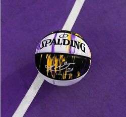 NEW SPALDING Basketball KOBE BRYANT Marbled Series LIMITED EDITION LAKERS COLORS $54.99