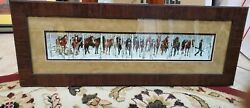 Framed Bev Doolittle quot;Two Indian Horsesquot; Matted and Framed Art Print $160.00