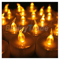 Led Tea Lights with Timer 24pcs Battery Operated Flickering Flameless Candles $18.99