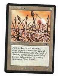Magic the gathering MTG Wall of Spears Antiquities M NM $2.99