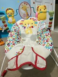 Bright Starts 60135 2 W11 Sundial Baby Bouncer Red $20.00