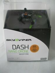 New Sky Viper Dash Nano Drone Indoor Flying Auto Hover Auto Launch amp; Land $12.00