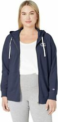 Ladies Champion Plus Size 1X Heritage French Terry Zip up Hoodie NWT $19.00