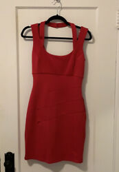 Guess Red Cocktail Dress Size 4 $18.00
