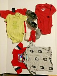 Boys 12 piece lot assorted clothing size 6 months $15.00