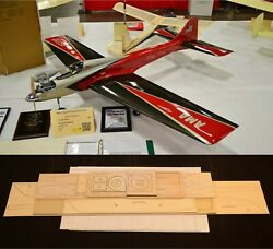 65quot;Ws DIRTY BIRDY Sport Pattern Rc Plane partial kit short kit amp; plans PLS READ $120.00