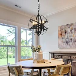 4 Light Pendant Light Fixture Chandelier Lamp Ceiling Pendant Lighting Fixture $63.99