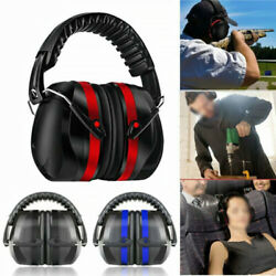 Folding Ear Defenders SNR 35dB Protectors Hearing Safety Adult For Shooting $25.99