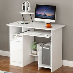 Home Desktop Computer Desk With lockers Home Small Desk Dormitory Study Table US $69.99