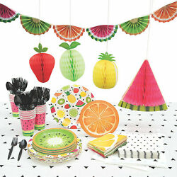 Tutti Frutti Party For 24 Party Supplies 190 Pieces $99.63