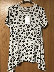 LuLaRoe XS Extra Small Melissa Tunic Top Animal Print Just Released New $34.00
