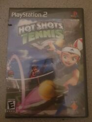 Hot Shots Tennis for Playstation 2 PS2 Brand New Fast Shipping $7.85