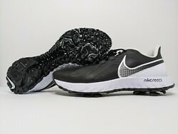 Nike React Infinity Pro Golf Shoes Mens Size Wide Black White CT6621 003 NEW $67.95