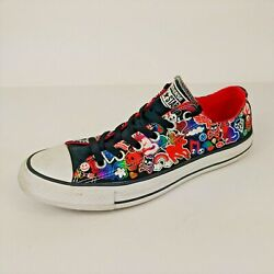 Converse All Star Womens Size 9 US MLP My Little Pony Skulls Rainbows Low Top $59.95