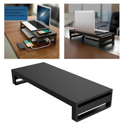 Metal Computer PC Monitor Desk Stand Riser Support Office Organizer Sturdy $61.16